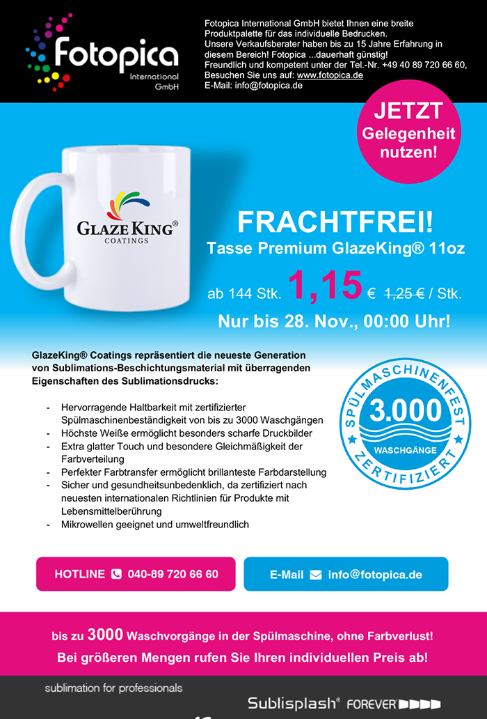 Fotopica-Promotion-Frachtfrei-GlazeKing®