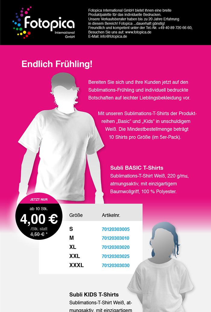 T-Shirts BASIC und KIDS