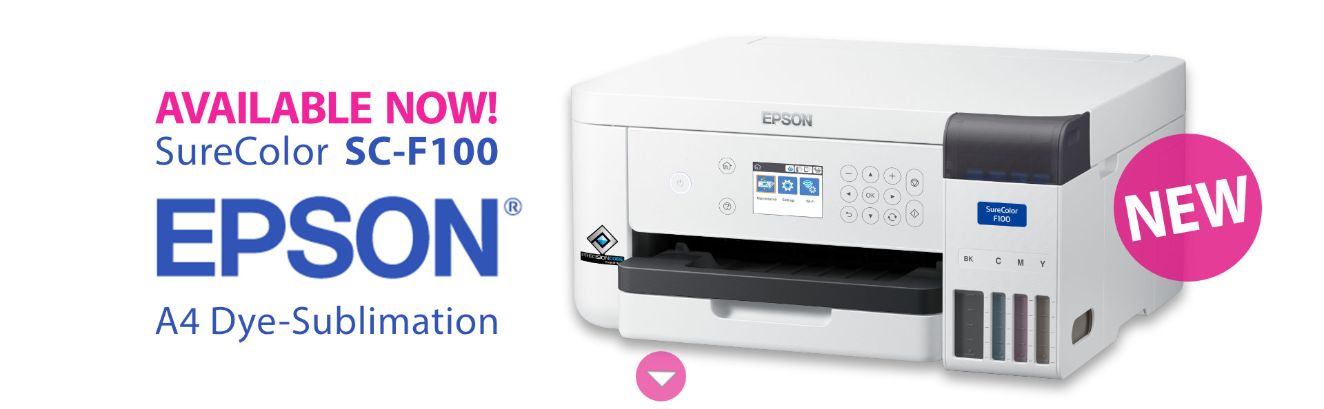 Epson F100 Printer AVAILABLE NOW!